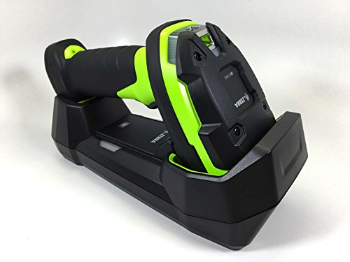 Zebra DS3678-SR Ultra-Rugged Cordless 2D/1D Barcode Scanner/Linear Imager Kit, Bluetooth, FIPS, Vibration Motor, Includes Cradle, Power Supply and Heavy-Duty Shielded 7 ft USB Cable (CBA-U42-S07PAR) barcode scanner usb