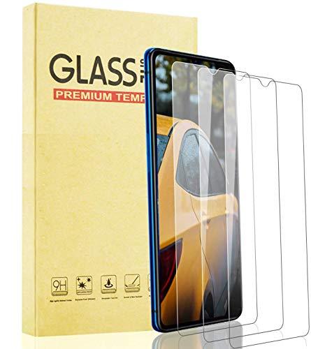 Lixuve Protector de Pantalla para Realme X2 Pro Vidrio Cristal Templado [3 Unidades], Dureza 9H Película Protectora, Resistente a Arañazos, Sin Burbujas, Fácil Instalación