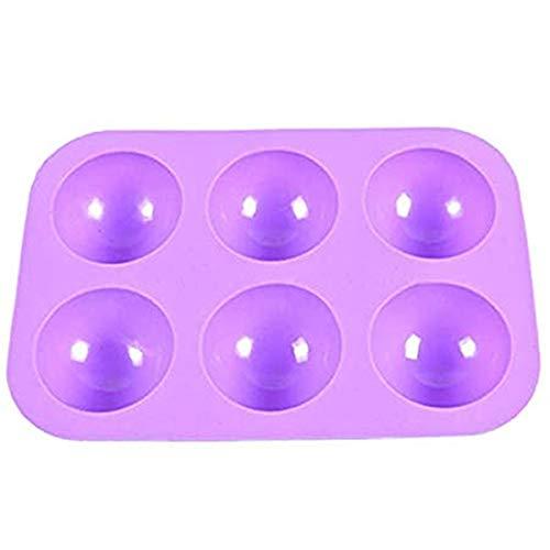Molde de silicona para repostería con forma de bola de medi