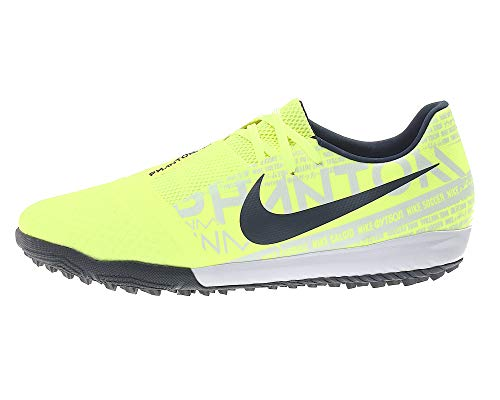 Nike Phantom Venom Academy TF Mens Football Boots AO0571 Soccer Cleats (UK 8 US 9 EU 42.5, Volt Obsidian 717)