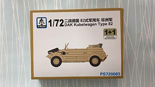 S-Model PS720083 1/72 DAK Kubelwagen Type 82(1 1)