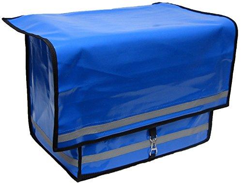 Zustellertasche Porty blau, Zeitungstasche Zustellertasche Rollertasche