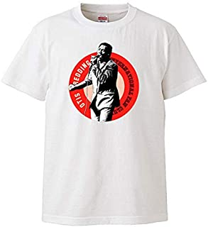 【Otis Redding Fan club/オーティス・レディング】SOUL BLACK MUSIC 5.6オンス Tシャツ/WH/ST- 201