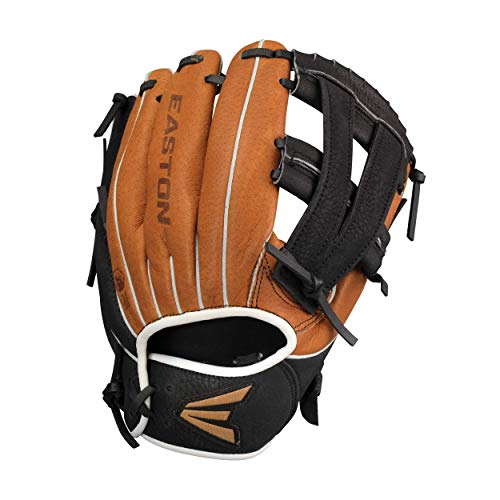 EASTON SCOUT FLEX YOUTH Baseball Glove| 2020 | Right-Hand Throw | 10' | All Position Glove | V Web | Ultra Soft Leather | Super Soft Palm Lining For Comfort + Grip | Easy Pocket Closure | SC1000