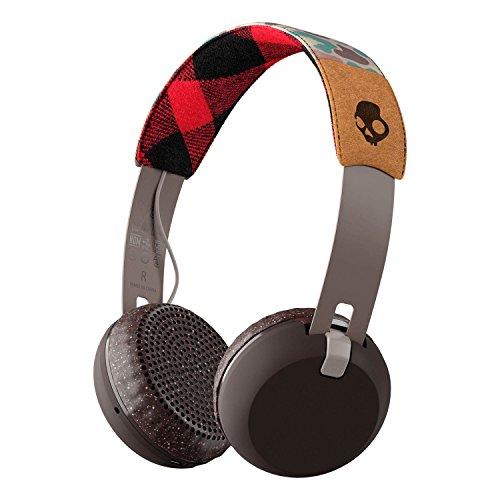 SKULLCANDY - Skullcandy Grind Wireless, casque supra-aural - Blanc/Noir/Rouge