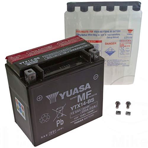 Preisvergleich Produktbild Yuasa AGM Batterie XRV 750 Africa Twin 1993-2003 YTX14-BS
