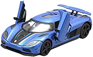 FidgetKute 1:32 Koenigsegg Agera R Supercar Car Model Metal Diecast Toy Vehicle Blue Gift