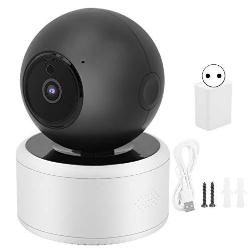 Cámara PIR, lente de alta definición, conexión Wifi, Home Mointor, función de posicionamiento de plástico ABS para seguridad en el hogar(Transl)