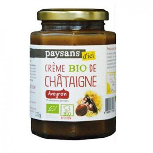 Crème de Châtaigne bio & équitable