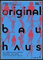 ポスター バウハウス Original schlemmer-figuren 額装品 アルミ製ハイグレードフレーム(ブラック)