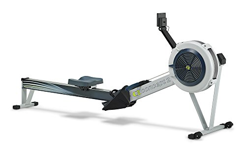Concept2 Model D Indoor Rowing Machine with PM5 Performance Monitor, Light Gray