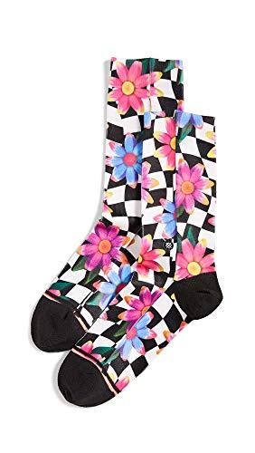 Stance Damen Crazy Daisy Crew Socken, Black, S