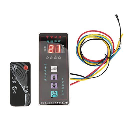 Mando de temperatura compacto y termostato, mando digital de temperatura, mando hecho de abdominales y electrónicos componentes para que se inicie el dormir 5 segundos una función.