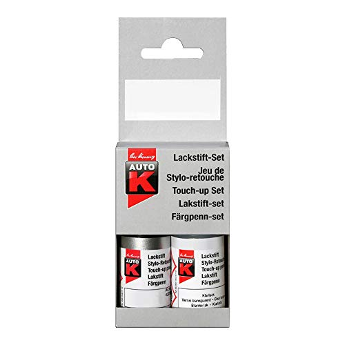 Kwasny Auto-K Lackstift 2-Schicht Lack Stift Original-Farbton Blackmagic LC9Z 9 ml