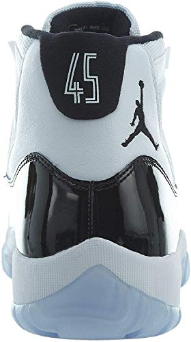 Nike Herren Air Jordan 11 Retro Fitnessschuhe, Mehrfarbig (White/Black/Concord 100), 43 EU
