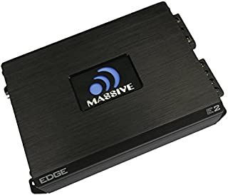 Massive Audio E2 – Car Audio 1,600 Watt Nano Edge Series, Monoblock Car Amplifier,..