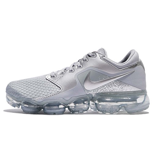 Nike WMNS Air Vapormax, Chaussures de Running Compétition Femme, Multicolore (Wolf Grey/Metallic Silver/Chrome 006), 37.5 EU
