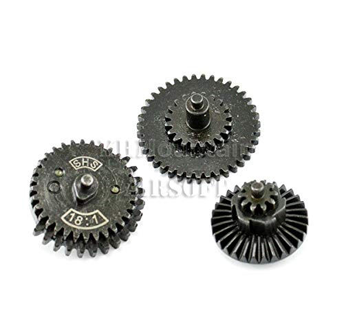 SHS 3rd CNC High Speed Gear Set for Airsoft Version II/III Gearbox (13:1)