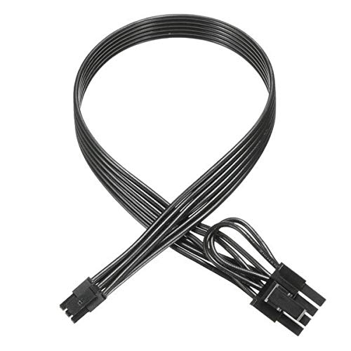 Mini 6 Pin male to 8(6+2) Pin male PCI Express Video Card Power Adapter Cable for Mac Pro Tower/Power Mac G5 20-inches TeamProfitcom