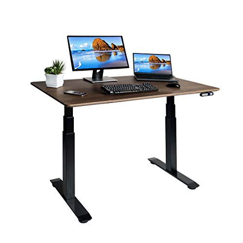 Our #1 Pick is the Seville Classics AIRLIFT Pro Electric Adjustable Standing Desk