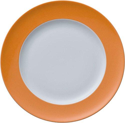 Rosenthal - Thomas - Sunny Day Frühstücksteller - Kuchenteller - Teller - Orange Ø 22 cm