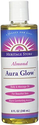 Heritage Store Lotion à l'amande pour une peau rayonnante , 235 ml