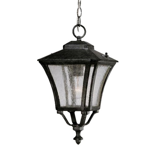 Acclaim 6016ST Tuscan Collection 1-Light Outdoor Light Fixture Hanging Lantern, Stone