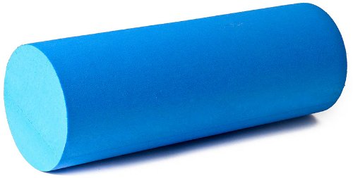 softX Faszienrolle Mini 40 cm Pilates Roller Zubehör Gymnastik blau Roll Massage