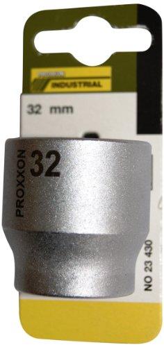 Proxxon 23430 Steckschlüsseleinsatz 32 mm, 1/2 Zoll