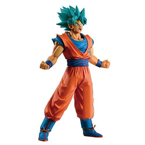 Banpresto - Figur DBZ - Super Saiyan Gott Super Saiyan Son Goku Ichibansho Geschichte der Rivals 25 cm, BAN16160