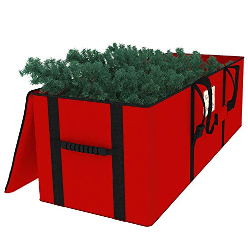Brobery Christmas Tree Storage Bag Fits Up to 7.5 Ft Artificial Trees 50' x 16' x 20' 600D Oxford with Durable Handles & Dual Zipper