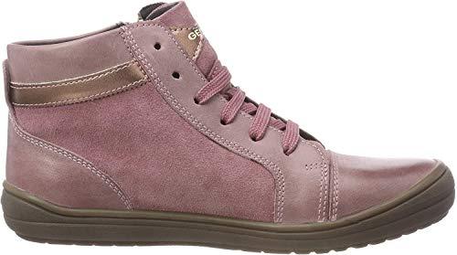 Geox J Hadriel Girl A, Zapatillas Altas para Niñas, (Dk Pink C8006), 27 EU