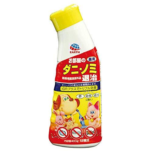 動物用医薬部外品 アース・ペット 薬用 ダニ・ノミ退治 400g