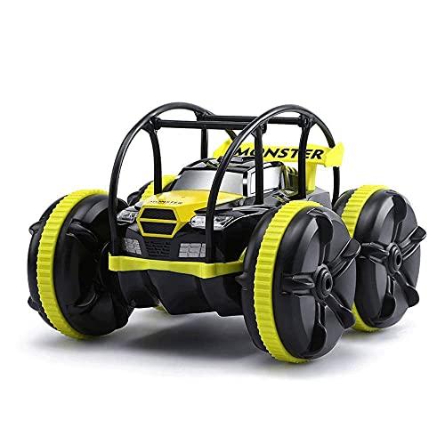 RC CAR 1:12 RC Coche de escalada 2.4GHz Control remoto Monstruo de alta velocidad Camiones con batería de recargeab Coches de juguete ecítico para niños Boys / Girls 6WD All Terreno Off-Road Vehic con
