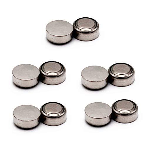 without brand HUHUI-DIANCHI, Botón AG13 LR44 10pcs Serie A76 célula de la Moneda Paquete de baterías alcalinas