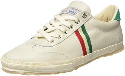El Ganso M Match Leather Ribbon It, Zapatillas de Deporte Unisex Adulto, Blanco (White), 40 EU