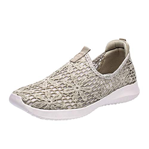 Feisi22 Mesh Shoes Men Slip Onthrmom,Fashion Men Mesh Casual Sport Shoes Lace-Up...