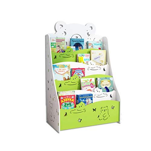 Librerie per Bambini Piccola sotto Il Tavolo scaffale Semplice da Pavimento Economica per Studenti scaffale per Libri illustrati per Bambini della Scuola Materna