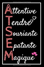 Attentive Tendre Souriante: idée cadeau ATSEM maternelle , Carnet de notes cadeau remerciement maîtresse , Cadeau pour ins...