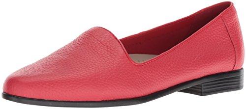 Trotters Women's Liz Ballet Flat, red, 8.5 M US