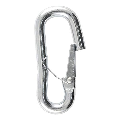 CURT 81288 Snap Hook Trailer Safety Chain Hook Carabiner Clip 9/16-Inch Diameter, 5,000 lbs.