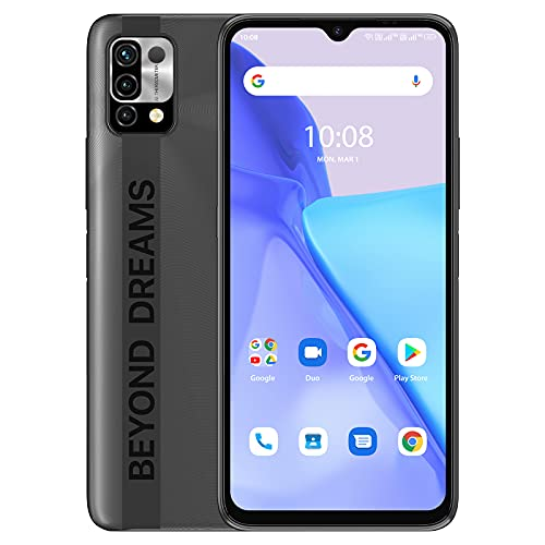 UMIDIGI Power 5 スマートフォン本体 SIMフリー版 Android 11 スマホ 6150mAh 大容量 バッテリー 6.53 HD+フルスクリーン SIMフリー デゥアル4G 1600 x 720 メモリー4GB + 128GB 3眼カメラ16MP+8MP+5MP グローバルバージョン 顔認証 側指紋認証 技適認証済 日本語取扱説明書 1 付き