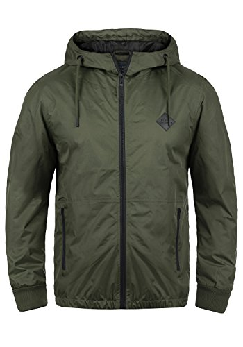 Blend Matt 20703718ME Windbreaker, Größe:XL, Farbe:Dusty Green (70595)