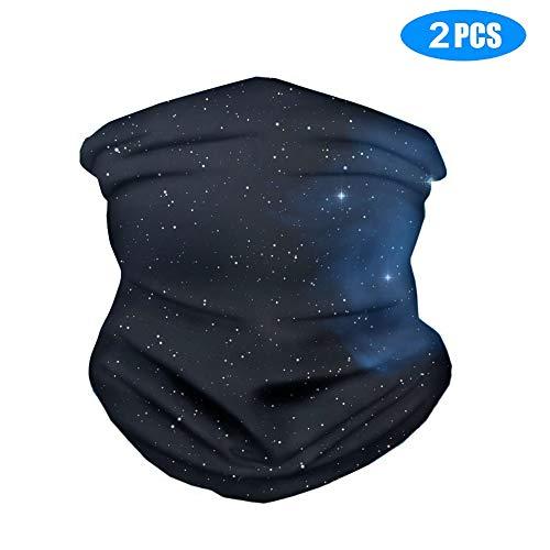 Bandanas für Sport-Kopfbedeckungen, weicher Schatten und Sonnenschutz, UV-Beständigkeit, nahtlos, für Erwachsene, Damen, Herren, 2 Stück L 6