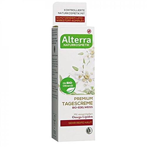 Alterra Naturkosmetik Premium Tagescreme Bio-Edelweiss mit essentiellen Omega-Lipiden für sehr reife Haut Inhalt: 50ml