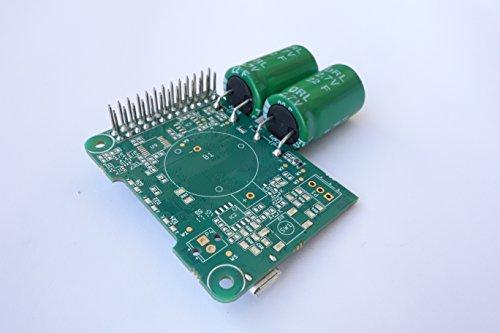 Juice4halt Supercapacitor UPS for Raspberry Pi, 5V Input, Micro-USB