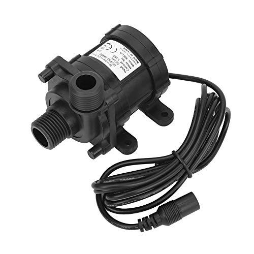 TOPINCN Getriebe Wasserpumpe DC24V 800L / H Werkzeug Ultra-leise Bürstenlose Springbrunnen Teiche Aquarien Energiesparend ABS Material