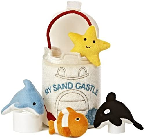 Aurora World Baby Talk My Sand Castle Carrier Plush, 8 by AURORA