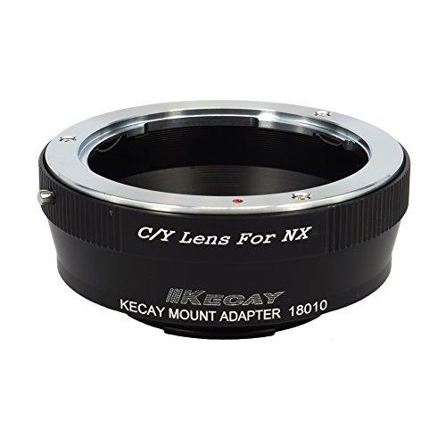 KECAY Objektiv Mount Adapter für Contax Yashica C/Y Objektiv auf Samsung NX-Mount-Kamera Adapterring für NX1 NX3000 NX2000 NX300M NX300 NX1000 NX210 NX200 NX30 NX20 NX5 Kamera Ring C/Y an Samsung NX