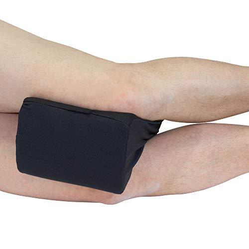Orthopädisches Kniekissen von Formalind® / Kniepolster aus Visco-Schaum für Seitenschläfer / Schwangerschaftskissen, Lagerungskissen, Seitenschläferkissen / viscoelastisches Kissen